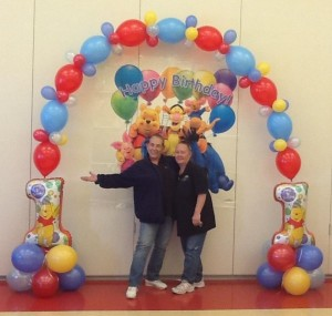 Balloon Arch by Up, Up And Away Balloon Decorators